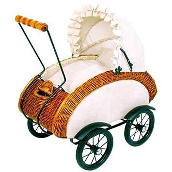 Amazon.es: Muñeca Andador carro de mimbre Retro Leonor: Juguetes y juegos