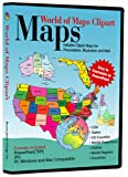 World of Maps Clip Art