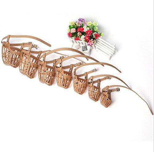 Efbock Gear Plastic Dog Basket Muzzle 1set(7pcs/set)