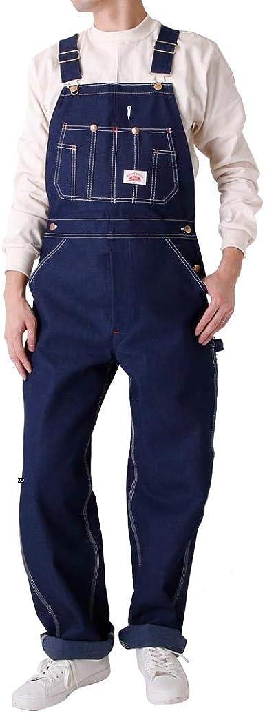 Amazon Com Round House Men S Blue Classic Overalls 966 28 42 Clothing