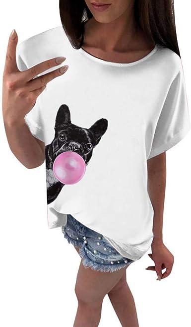 Lenfesh V/êTements De Mode Chemisier /à Manches Longues pour Femmes T-Shirt D/éContract/é /à La Mode pour Femmes