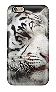Best 2237424K97249857 Iphone 6 Case, Premium Protective Case With Awesome Look - White Bengal Tiger