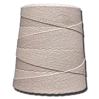 T.W Evans Cordage 07-060 6 Poly Cotton Twine 2.5-Pound Cone, 8000-Feet: Home Improvement