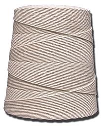 T.W . Evans Cordage 06-300 30 Poly Cotton Twine 2-Pound Cone, 1250-Feet