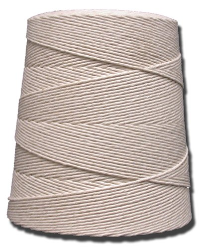 T.W . Evans Cordage 06-080 8 Poly Cotton Twine 2-Pound Cone, 4800-Feet