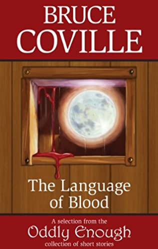 book cover of The Language of Blood