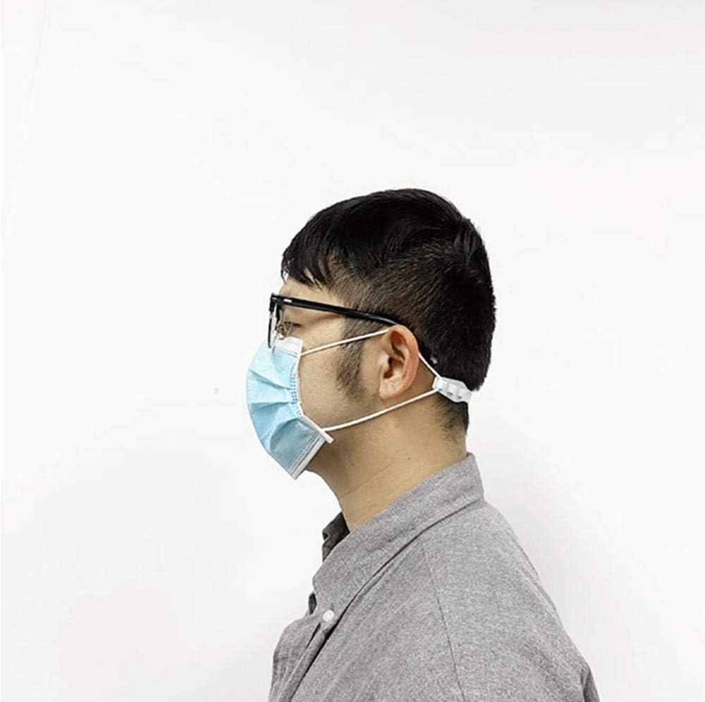 5 pezzi gancio regolabile per maschera di terza marcia con fibbia per orecchio e orecchio Nobrand con fibbia