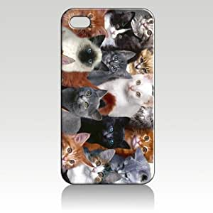 Cat Animal Hard Case Skin for Iphone 4 4s Iphone4 At&t Sprint Verizon Retail Packing.