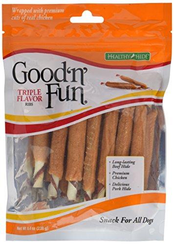 Good 'n' Fun Triple Flavor Ribs, 8.4 oz