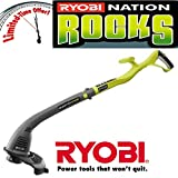 Ryobi ONE+ 18-Volt Lithium-Ion Electric Cordless String Trimmer and Edger RENEWED Trimmer Only
