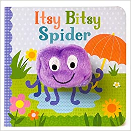 d18f47a7703 Amazon.com  Itsy Bitsy Spider Finger Puppet Book (9781680524345)  Cottage  Door Press  Books