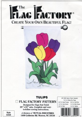 The Flag Factory Tulips Pattern