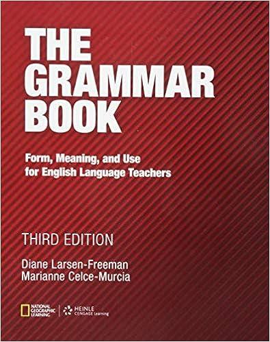Amazon.com: The Grammar Book (9781111351861): Diane Larsen ...