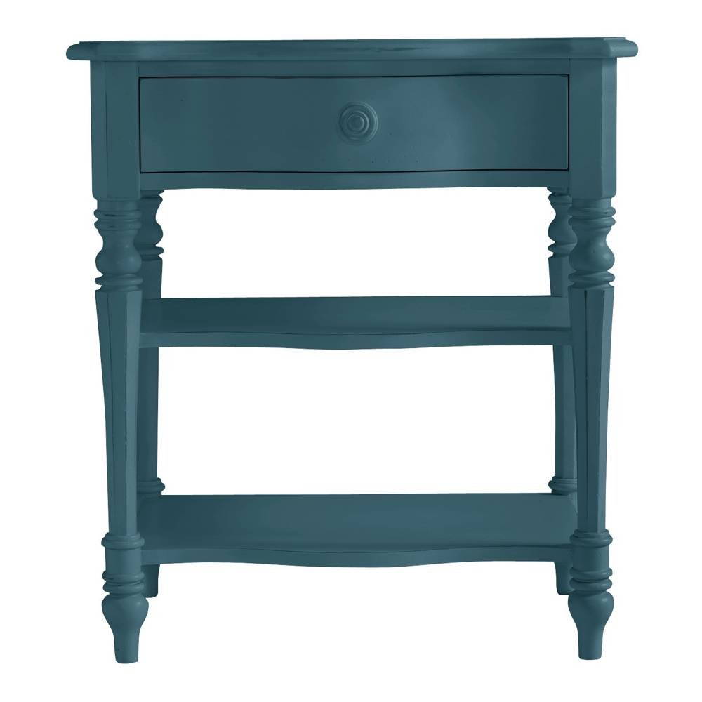 Amazon.com: Stanley Furniture Coastal Living Retreat Bedside Table, Belize  Teal Finish: Kitchen U0026 Dining
