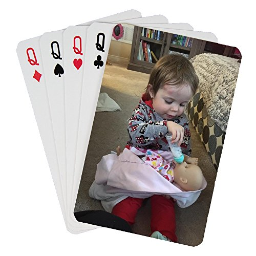 (Custom Printed Playing Cards (1 Poker Size Deck))