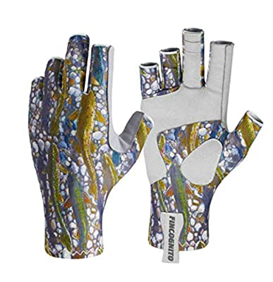 96JUTD-XS Fincognito Trout Dreams Sun Gloves-Xs from Cognito Brands, Inc.