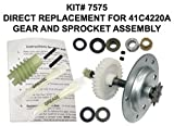 Automotive : Chamberlain Liftmaster 41c4220a Gear and Sprocket Assembly, 100% OEM Factory Direct by Chamberlain