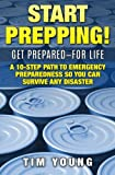 """""""ABSOLUTE BEST PREPPING BOOK OUT THERE!""""You don't like to think about it, but deep down you know it can happen. Disaster can strike without warning, leaving your family without water, food, or electricity, and without medical or police support. How w..."""