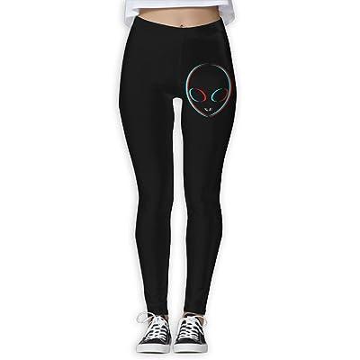 DDCYOGA Trippy Alien Womens High Waist Yoga Pants Fitness Yoga Sport Pants For Women