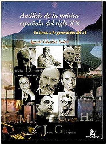 Análisis de la música española del siglo XX: Amazon.es: Charles ...