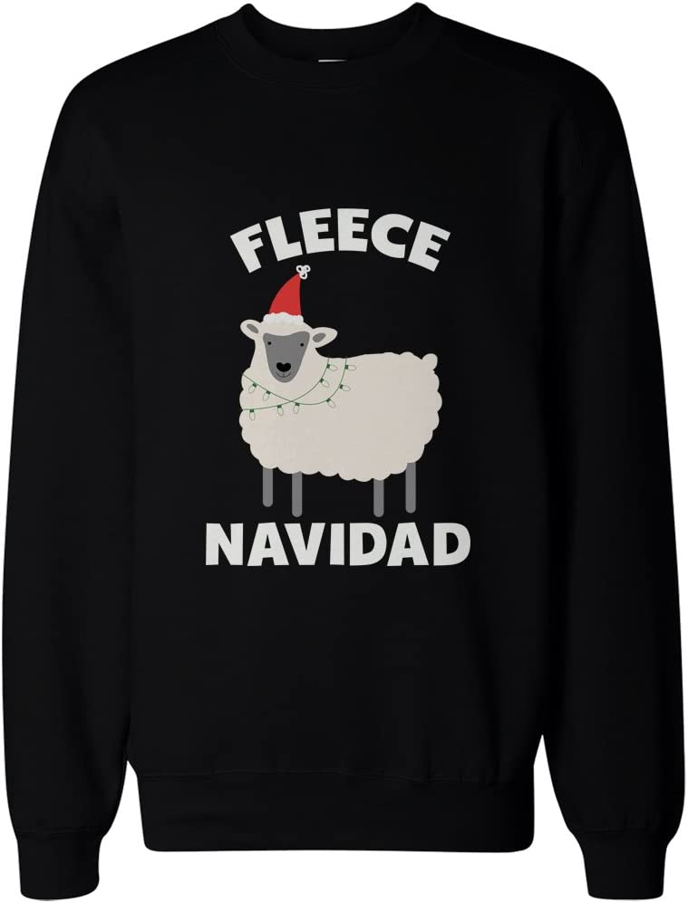 Cute X-mas Pullover Sweater 365 Printing Fleece Navidad Funny Christmas Graphic Sweatshirts