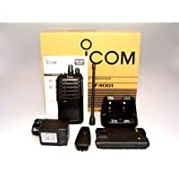 Icom F4001 02 DTC 403-470mhz UHF 4 watt 16 channels portable radio