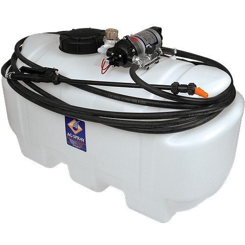 25 Gallon Spray Tank with Agitation 12volt Connection, for Ag Sprayers by Ag Spray Equipment