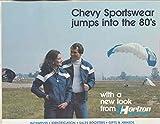 1980 Chevrolet Horizon Clothing Jacket Patch Brochure & Dealer Order Form