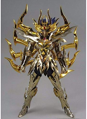 Linker Wish LC Model Saint Seiya Pisces Aphrodite Myth Cloth Gold Action Figure Toy Doll Collectible Gifts with Metal Foot (Picture Color)