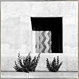 Downtown Doorway-HARBUI59554 Print 20.5''x20.5'' by Harold Silverman - Buildings & Cityscapes in a Silver Metal Frame