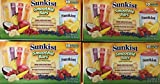 Sunkist Smoothie Bars - Gluten Free Frozen Juice Smoothies ((40) 1.0 bars (4/10ct boxes))