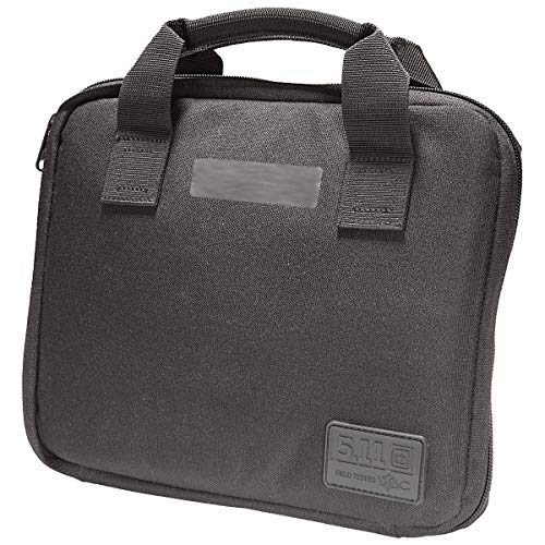 (5.11 Tactical Single Pistol Case Black, One)