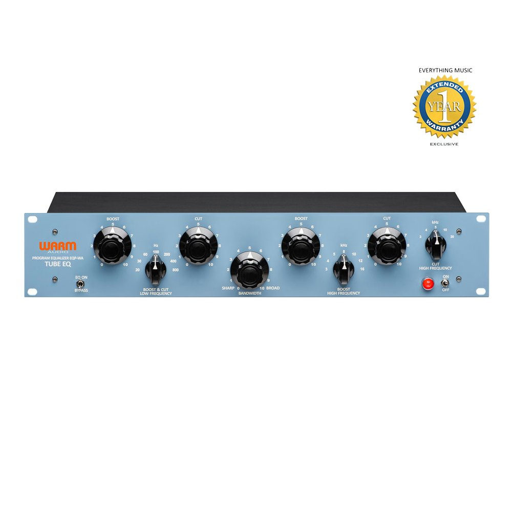 Warm Audio EQP-WA Pultec Style Tube Equalizer with 1 Year EverythingMusic Extended Warranty Free