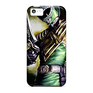 Eco-friendly Packaging phone carrying cases Protective Beautiful Piece Of Nature Cases Durability iphone 6 - green ranger