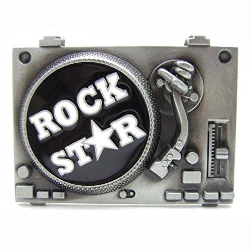 Amazon.com: Vintage – Rollo de metal estrella de rock ...