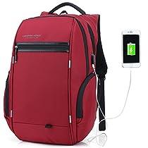 LUXUR  laptopbackpack  タウンリュックビジネスリュック 15.6イン...