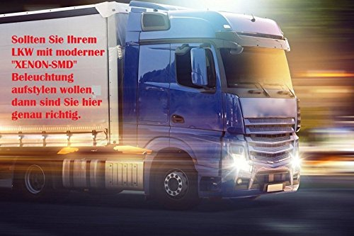 / Xenon Bianco/  / estremamente Luminosa/  / Moderno look e Incredibilmente luminosit/à intensa soffitten LED per camion con Canbus Res 10/ X Pezzi 24/ Volt W5/ W//T10/ con 5/ X Power SMD/