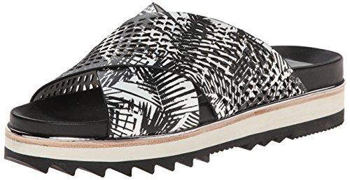 White Shaye Women Black Platform Dolce Vita Sandal Print Palm OSEYxqOH