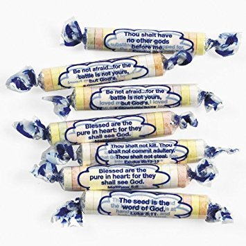 Tangy Tarts Religious Scripture Candy