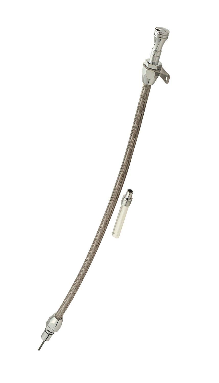 Mr. Gasket 9704G Braided Firewall Mount Dipstick for 700R4 Mr Gasket