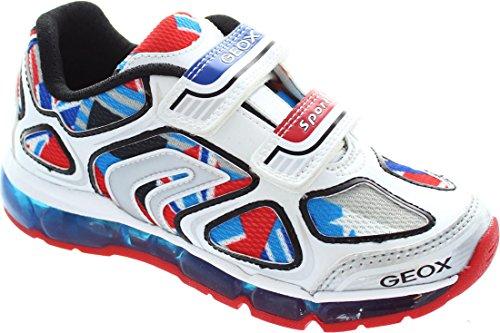 GeoxAndroid A - Zapatillas para chico blanco