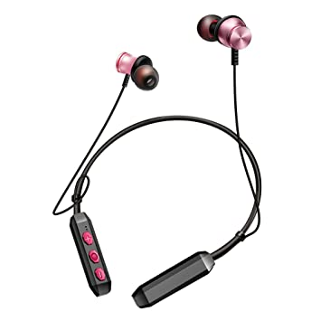 Bluetooth Deporte Auriculares), BT de kdk60 Cuello Magnetic Wireless Earbuds Bluetooth V4.2