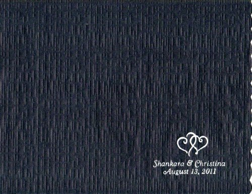 50 Personalized Printed 24# Paper Placemats Wedding 10