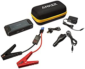 Anker [Ultra Compact] Compact Car Jump Starter and Portable Charger Power Bank with 400A Peak Current, Advanced Safety Protection and Built-In LED Flashlight
