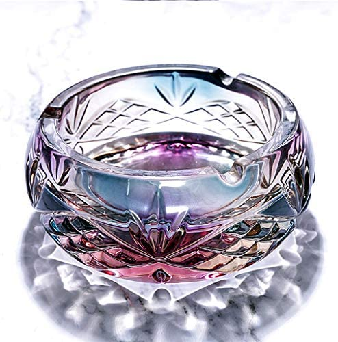 CQ 北ヨーロッパのファッションクリエイティブクリスタルガラス灰皿オフィスパーソナリティホームトレンドアメリカの灰皿