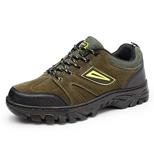 Hommes Casual Chaussures Anti-Slip Coupe-vent Stretchy Performance Loisirs Sports Élégant Bas-Haut Chaussures de Randonnée Running Mountaineer