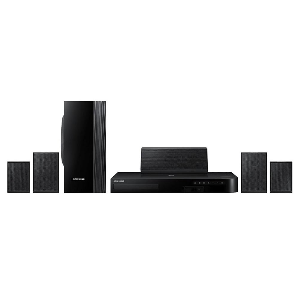 Samsung 5.1 Channel Blu-Ray Home Theater System HT-J4100 (Certified Refurbished) by Samsung