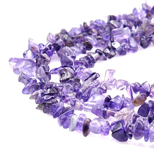 BRCbeads Nice Amethyst Chips Beads 7~8mm 34 Inches per strand For Jewelery Making