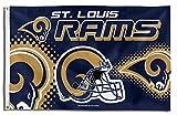 St Louis Rams PV Helmet Rico 3x5 Flag w/grommets Outdoor Banner Football