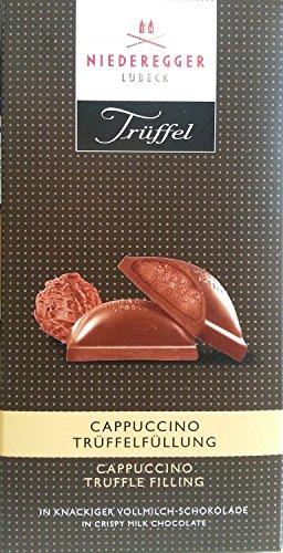 Niederegger Chocolate w/Cappuccino-Truffle Filling 100g